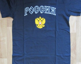 Embroidered t-shirt Russia Double Eagle Россия S, M, L, XL, 2XL