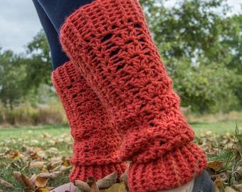 Crochet Leg Warmers - Crochet Pattern