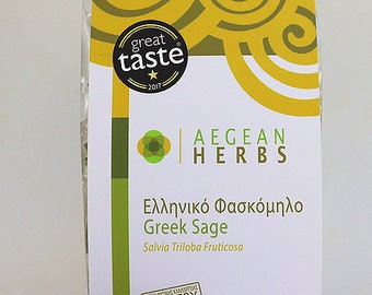 Sage leaves * * geschn. From Amorgos-Greece-London great taste 2017