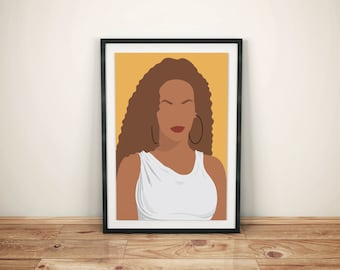 """Beyonce """"Everything is Love"""" Poster Print"""