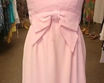 Vintage 1960's Pink Bow Troy Figure dress!