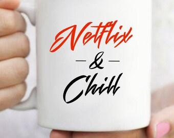 Netflix & Chill Mug