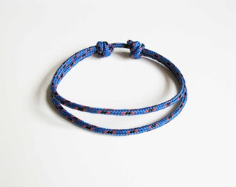 Simple Rope Bracelet - Blue
