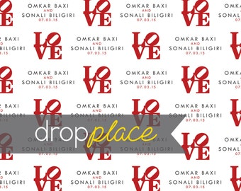 CUSTOM Personalized Vinyl Backdrop LOVE Wedding Anniversary Photo Booth Step and Repeat Shower Birthday Party Logo Event Background