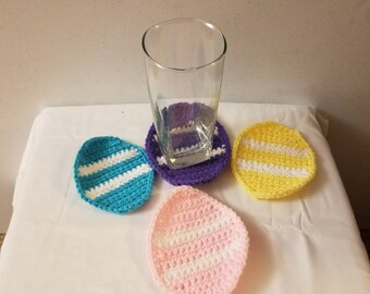 Easter egg coasters