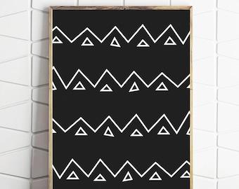 aztec art, aztec print, aztec pattern, aztec printable, aztec download, aztec decor, aztec poster, aztec wall art, aztec wall prints