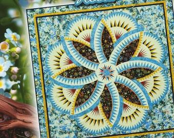Lakeshore Hosta Paper Piecing Pattern by Judy Niemeyer