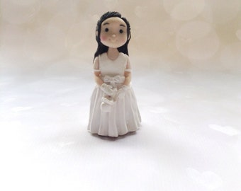 Handmade Clay First Holy Communion/Birthday Cake Topper