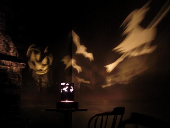 Spinning lamp shade halloween like this item aloadofball Images