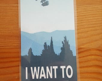 Star Trek I Want to Believe Bookmark