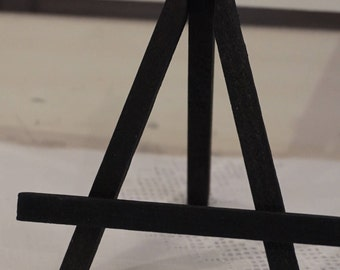 Small Table Top Easel / Black 4 x 4 inches