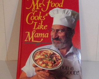 Mr food recipe book etsy mr food cooks like mama ooh its so forumfinder Gallery