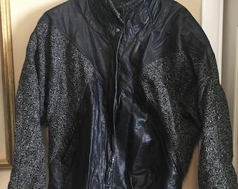 80's Winlit Leather Jacket