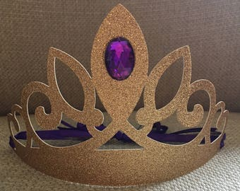 Princess Sophia Birthday Party Crowns, Sophia crown sets, Princess Sophia birthday party Favors, Sophia the first crown tiara, purple crown