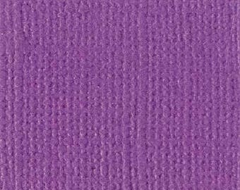 Scrapbooking paper Bazzill textured canvas 30 x 30 cm - Ref 11110605 - until the stock Velvet!