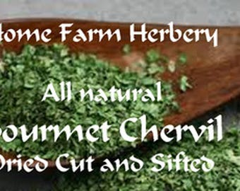 Special LIMITED TIME Sale for Chervil Buy 1 oz. and get 1 oz. FREE
