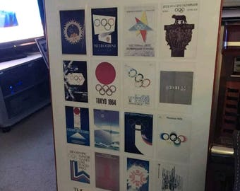 Olympic Games 1956-1984 The Art of The Olympics Games