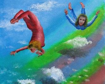 Carefree (print from original painting)