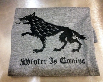 Game of Thrones // Winter is Coming // Unisex Tri-blend Tee