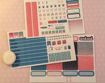 Mini Happy Planner Sticker Kit