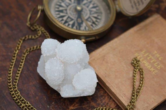 White Spirit Quartz Cluster 150g, Spirit Crystal, Cactus Crystal Cluster, Spirit Quartz Cluster, White Spirit Quartz, Altar Stone