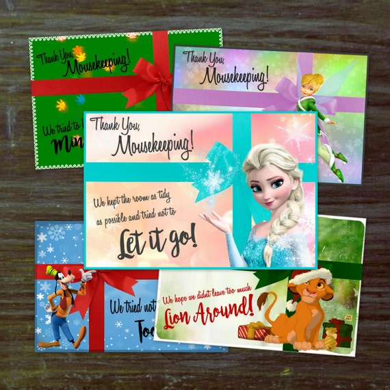DIY Christmas Mousekeeping Envelopes Or 5x7 Notes DIY