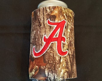 Alabama Custom Camo Can Insulated Beverage Cooler