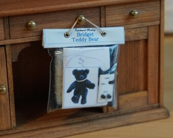 Dolls House Miniature Teddy Bear Kit - Bridget