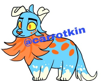 Fluffy Character Adopt