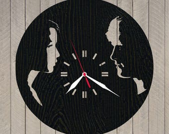 Wooden clock hunger games katniss everdeen/Hunger games peeta mellark/Katniss everdeen and peeta mellark/Hunger games catching fire