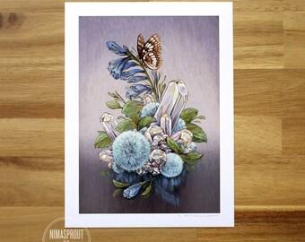 Lorquins's Admiral - Fine Art Print by Nicole Gustafsson