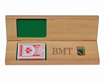 Personalized Folding Cribbage Board