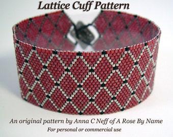 Lattice Cuff Pattern