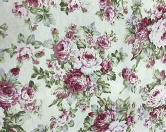 FABRIC : Flower Printed  100% Cotton Oxford 20Su 06