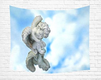 """Angel Reflections Wall Tapestry 60""""x 51"""" (4 colors)"""