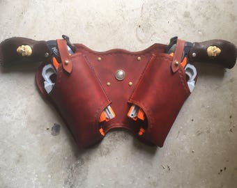 Double Hammershot Rear-draw Holster