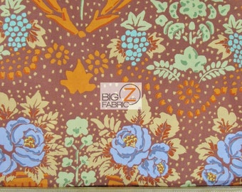 """100% Cotton Fabric By Westminster Fibers - Kaffe Fassett- 45"""" Width Sold By The Yard (FH-1632)"""