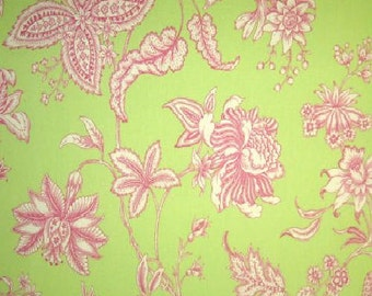 Oriel color Green, Printed Decorative Fabric