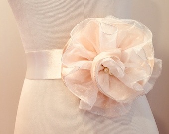 Bridal sashes & belt handmade sash