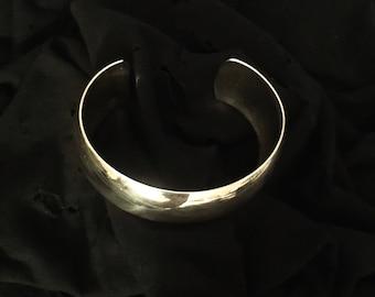 Handmade Sterling Silver Cuff Bracelet