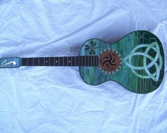 CELTIC DREAM Mosaic Guitar