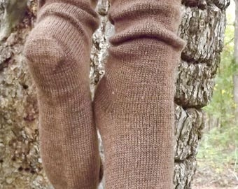1910 Shepherd Socks-Moorit-Women's size 5-7