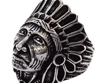 Indian handmade steel ring