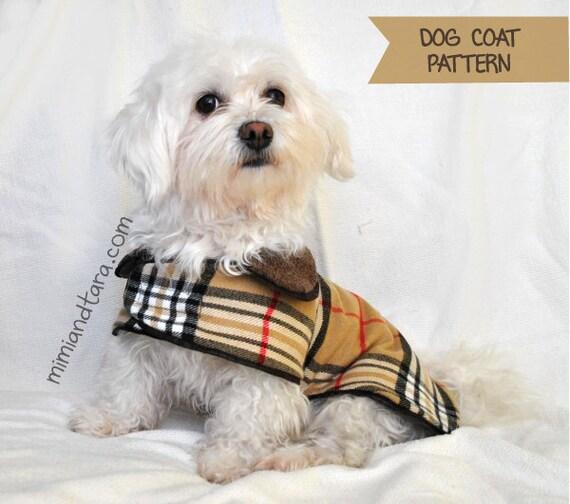 Dog Coat Pattern size XL Sewing Pattern Dog Clothes Pattern