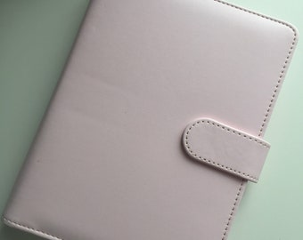 Pastel Pink A5 Filofax Organisers