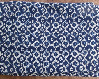 India Block Print Indigo Dreams
