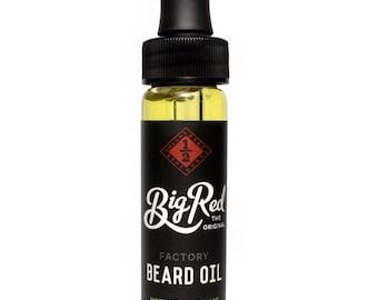 1/2 oz. Big Red Factory Beard Oil