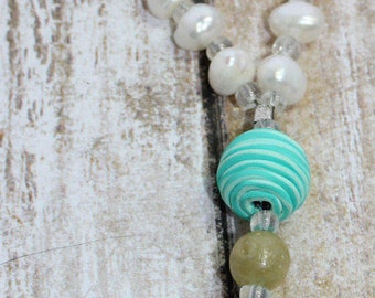 Butterfly and Pearl Pocket/Children's Prayer Beads