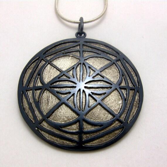 Universal Pattern Pendant Kenpo Karate Inspired Jewelry By