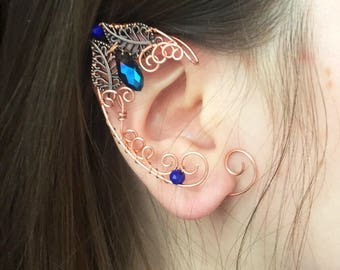 Elf ears (a pair) elven ear - ear cuff - elvish earring - elf ear